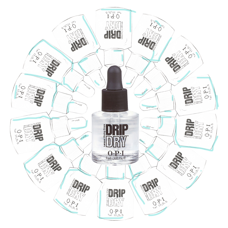 Opi Drip Dry Lacquer Makes Your Nail Polish Dry Impressively Fast ...
