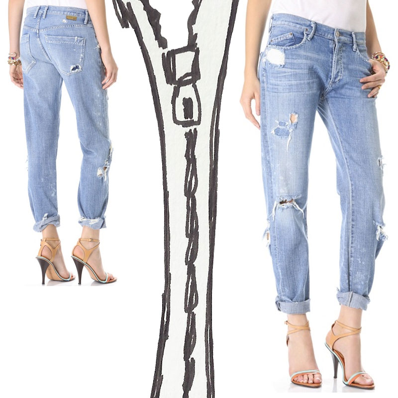 Why Goldsign Mr. Right Are The Absolute Perfect Boyfriend Jeans ...