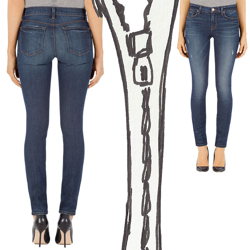 Officially A Classic Now: J Brand Mid-Rise Skinny Jeans « The ...