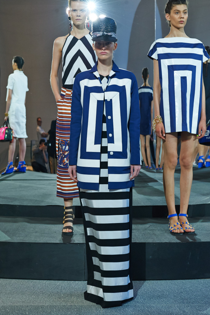 Slideshow: Kenzo Resort 2015 Was Inspired By How French Women Dress