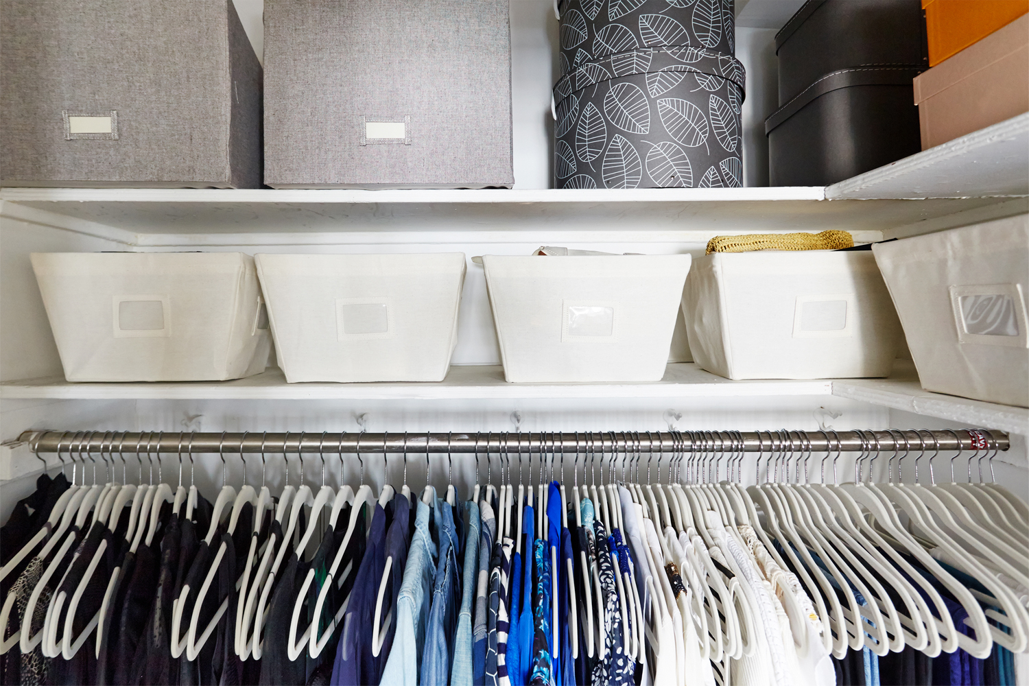 Before/After: Victoria's Closet Goes From Winter Wild To Spring Clean