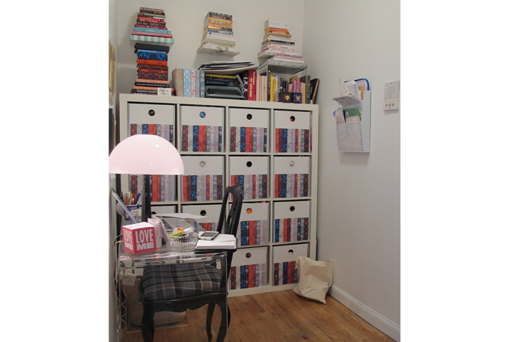 Before/After: The Easiest Desk Area Makeover Ever