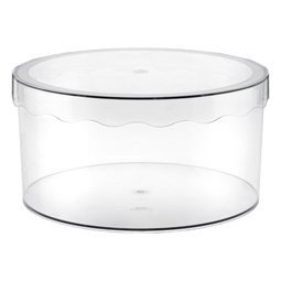 Clear Hat Box Medium