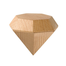 You Can Hide Your Tiniest Personal Items In This Diamond Wooden Box