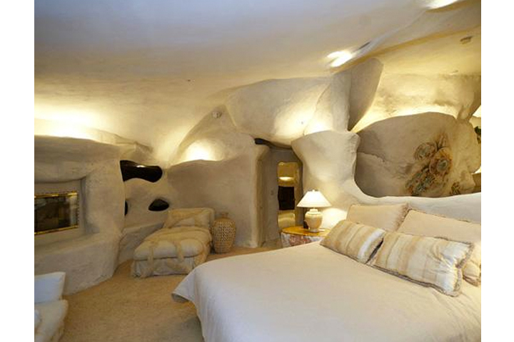 Home Tour: This Is Insanity! We Had <em>NO</em> Idea That Dick Clarke Lived In An Actual Flintstones House