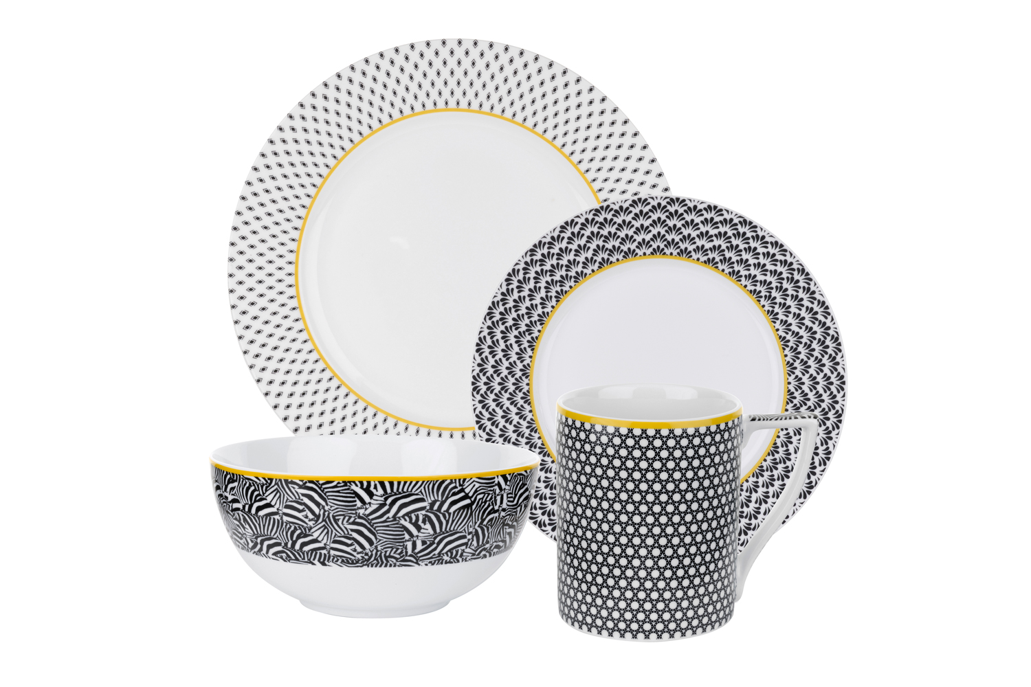 Not Mad At The Geo Prints Of The New Ted Baker Tabletop Range