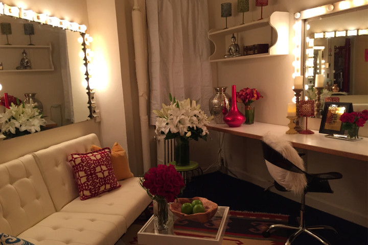 Slideshow: How We Turned Brandy's Chicago Dressing Room From Drab To Fab