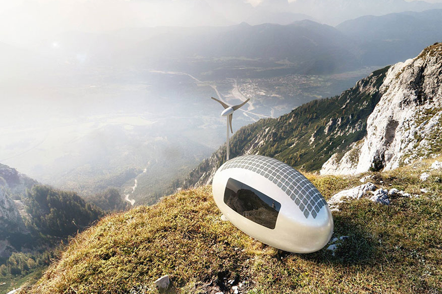 We're Going To Get An Ecocapsule And Live Off The Grid. Bye!