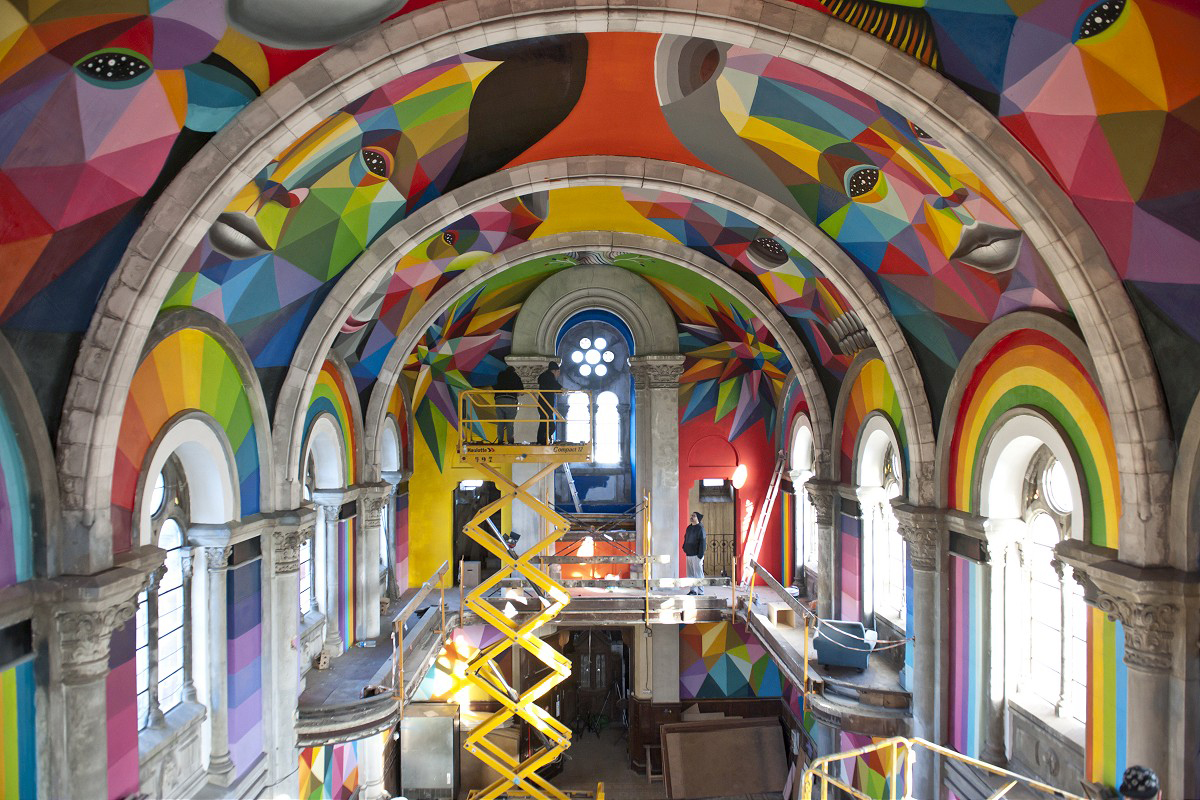 Holy Half-Pipe! See The Incredible Transformation Of A 100-Year Old Church Into A Skate Park