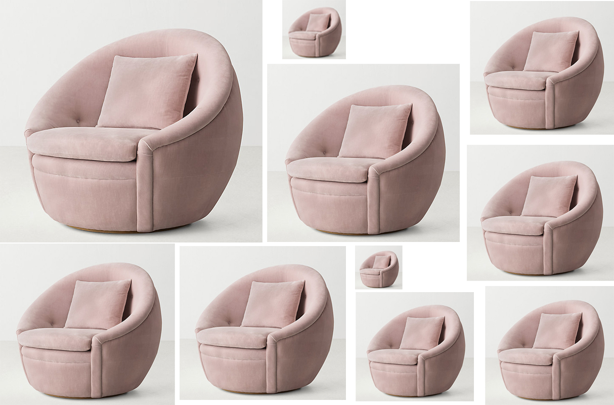 Beau RHu0027s Round Oberon Swivel Tub Chair Is Really The Thing Of Dreams | The  Byrne Notice