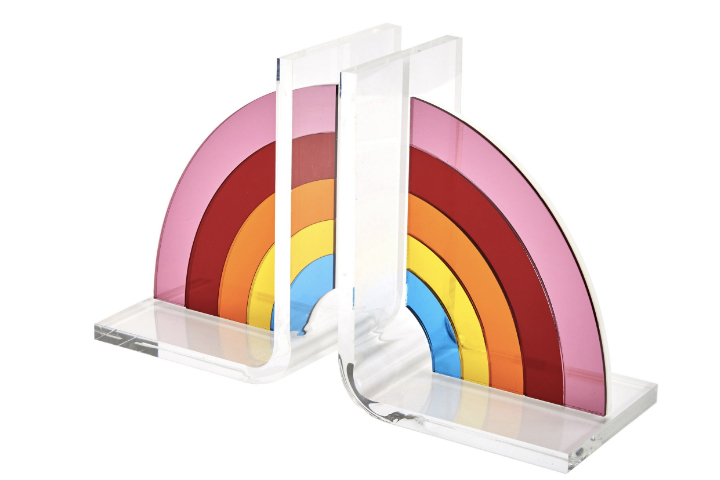 These Rainbow Bookends Will Add Instant Life And Personality To Your Living Space