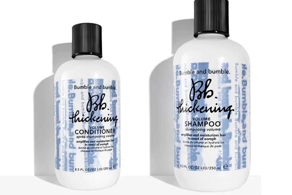 e1f65d00194 Bumble   Bumble Thickening Shampoo   Conditioner Are Game Changers In The  World Of Hair Volume